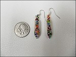 Beaded Small Corn Earrings - 3682